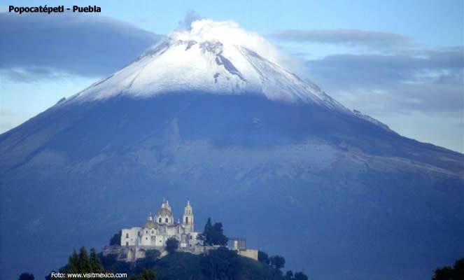 Vulcão Popocatépetl, Puebla