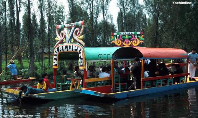 Xochimilco, arredores de Ciudad de Mexico