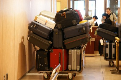 Bagagem em aeroporto - foto: Ippei Ogiwara CC