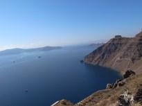 Grécia, as encostas de Santorini , Grécia, Foto Maggel Meng C BY