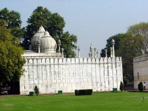 Construção em estilo mogol, Red Fort, Delhi