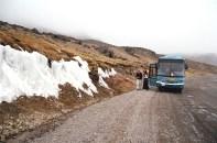 Estrada de Arequipa a Chivay, a quase 5 mil metros