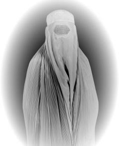 Afegã de burka