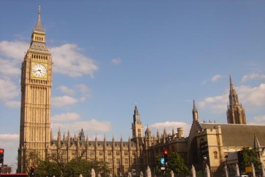 Big Ben, no centro de Londres