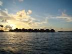 Bora Bora, Tahiti, por do sol