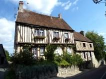 Casa típica da Champagne em Provins, França