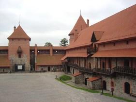 Castelo de Trakai, próximo de Vilnius, Lituânia