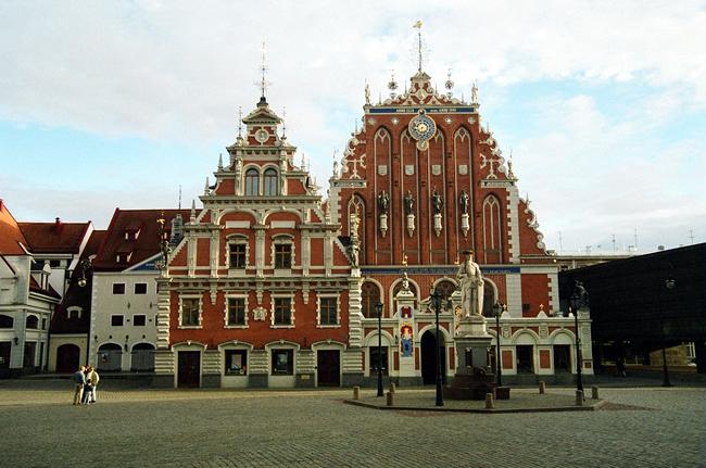 Construções históricas, Riga, Letônia