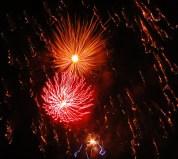 Fogos de artifício em Porto Seguro