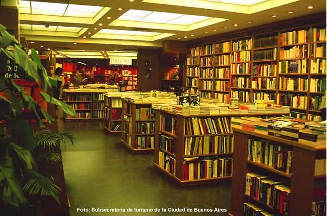 Livraria em Buenos Aires, Argentina