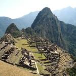 Machu Picchu, o mais importante sítio arqueológico da América, no Peru