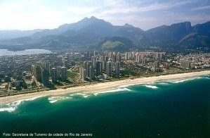 Praia no Rio de Janeiro, RJ Brasil