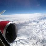 Sobrevoando o Himalaia