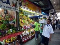 Bancas de Frutas do Mercadão Municipal de São Paulo