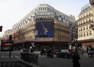 Galeries Lafayette, Paris, França