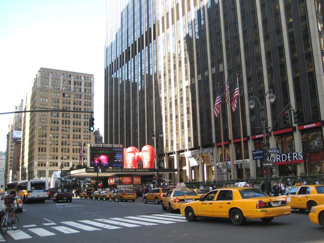 New York, Madison Square Garden