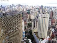 Vista panorâmica de São Paulo, SP