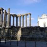 Templo romano em Évora, no Alentejo, Portugal