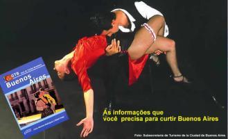 Espetáculo de tango em Buenos Aires