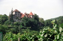 Fazenda produtora de vinhos, Alsácia, França