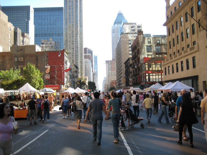 New York, cidade dos eventos, foto Barão