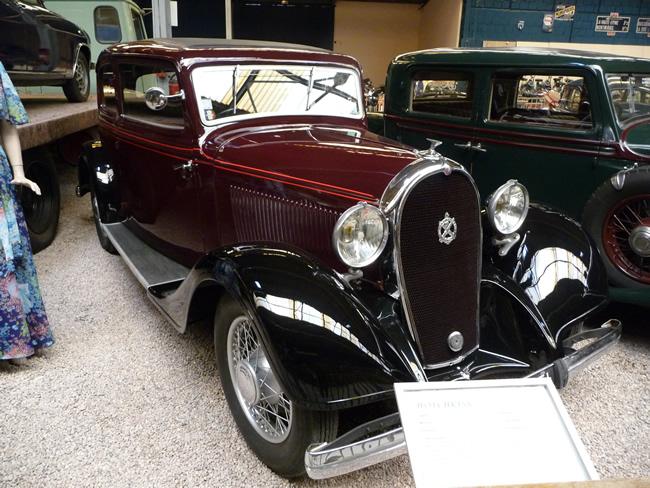 Carro antigo, Hotchkiss, 1934, Reims