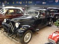 Citroën, carro antigo Musée,de l' automobile, Reims, França