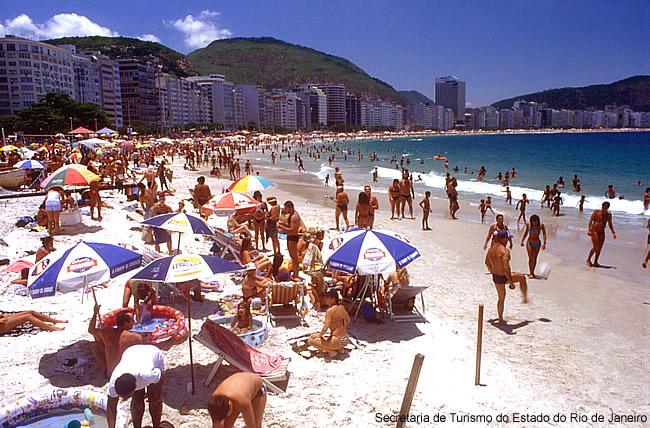 Praia no Rio de Janeiro