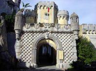 Entrada do Palácio da Pena, Sintra