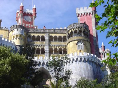 Fachada, Palácio da Pena Sintra