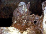 Caverna do Diabo - as caveiras.,