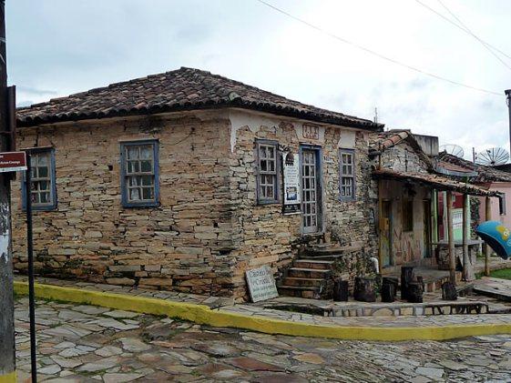 Casa típica em São Thomés das Letras