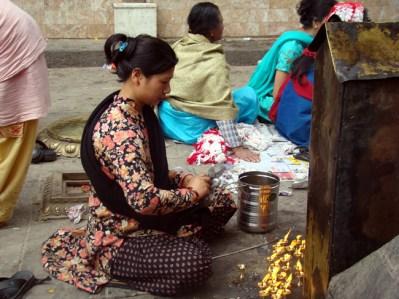 Orações em Swayambhu, Napel