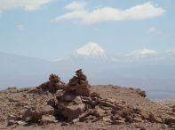 Apachetas dedicadas a Pachamama