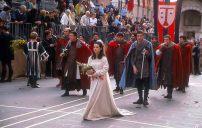 Calendimaggio, desfile