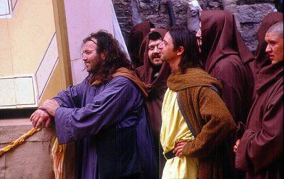 """Os """"monges"""", festa do Calendimaggio"""