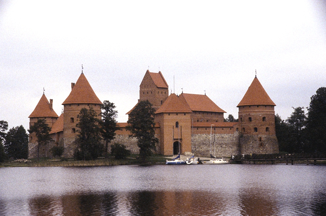 Castelo medieval de Trakai, Lituânia