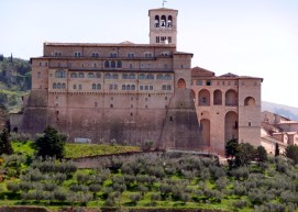 Castelo na Umbria, Itália
