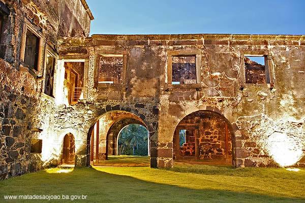 Ruinas do castelo Garcia dAvila