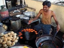 Comida de rua na India