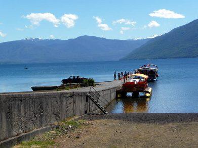 Lago Caburgua, cais