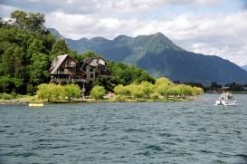Lago Villarica, sul do Chile