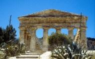 Segesta, ruínas estilo greco clássico