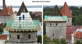 Torres da Idade Média em Tallinn, Estônia