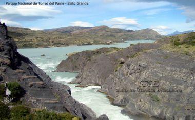Torres del Paine, no Chile