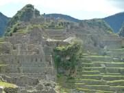 Setores residencial e agricola em Machu Picchu