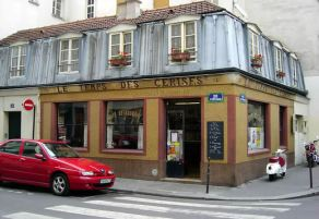 Bistrot no Marais, em Paris
