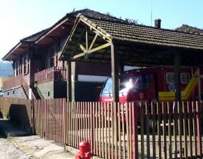Casa de madeira em Paranapiacaba