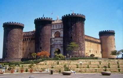Castel Vecchio, Nápoles, Itália - Foto Manual do Turista