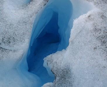 Fenda no gelo, Glaciar Perito Moreno, Argentina - Foto Melina Castro